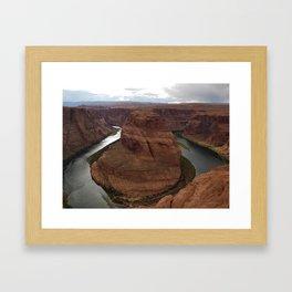 Horshoe Bend, Arizona Framed Art Print