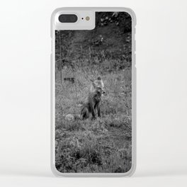 Floof the Patient Clear iPhone Case