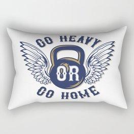 Go Heavy or Go Home Rectangular Pillow