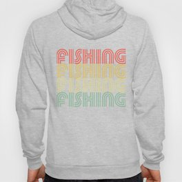 Fishing Hipster Design Hoody