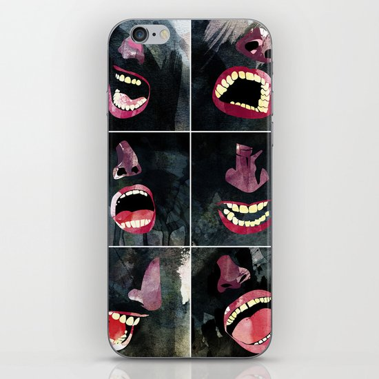 9 gritos iPhone & iPod Skin