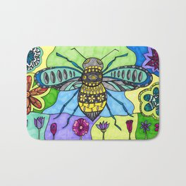 It's All ABout Bees! Bath Mat