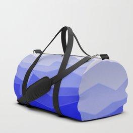Chaos Sea Blue Duffle Bag