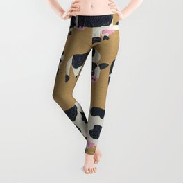 Cow Collection - Kraft Leggings