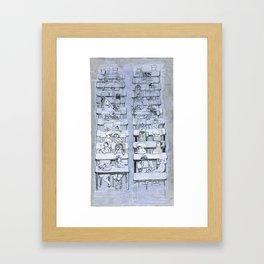 school 1 Framed Art Print