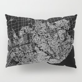 toronto map Pillow Sham