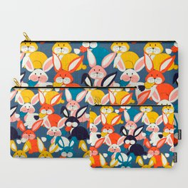 Rabbit colored pattern no2 Carry-All Pouch