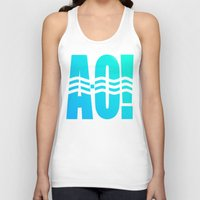 river Tank Tops featuring RIVER! by Gold Lining