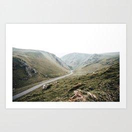 view of Winnats Pass Art Print