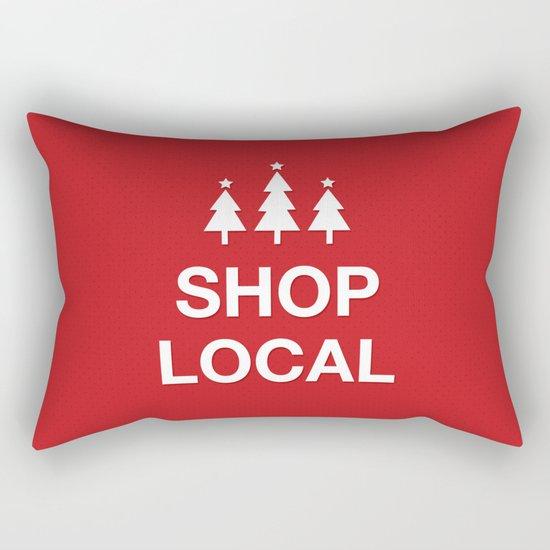 KEEP CALM SHOP LOCAL Rectangular Pillow