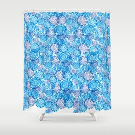 Microorganisms Shower Curtain