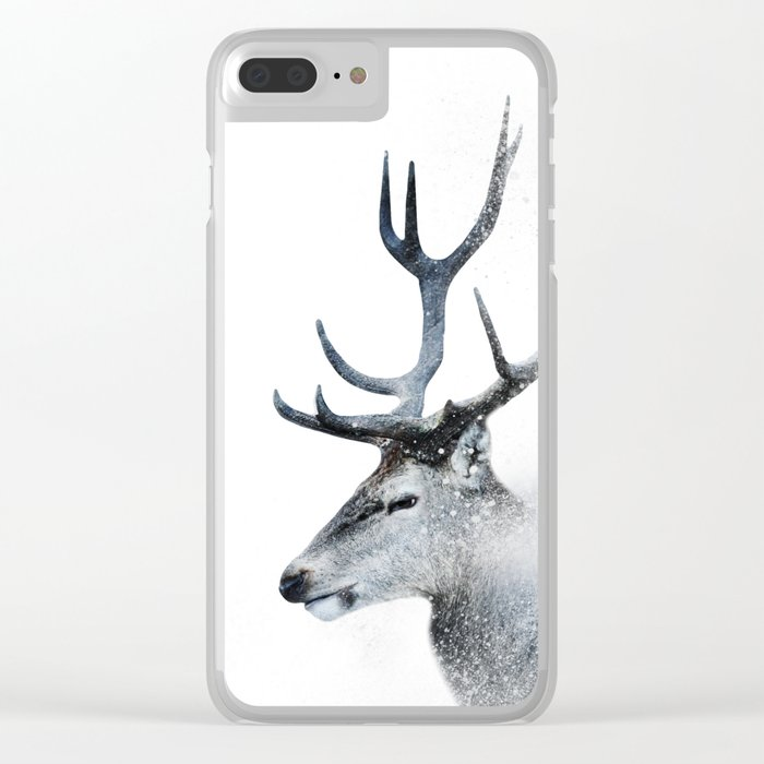 Oh Deer Clear iPhone Case