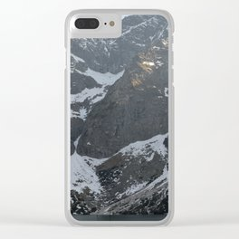 Snow in May Clear iPhone Case