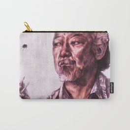 Mr. Miyagi from Karate Kid Carry-All Pouch