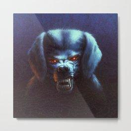 The Barking Ghost Metal Print