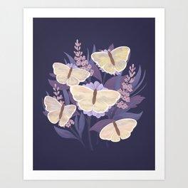 Day Butterflies Art Print