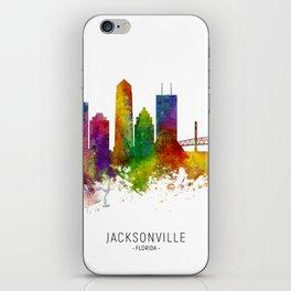 Jacksonville Florida Skyline iPhone Skin