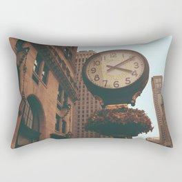 The Sherry Netherland Clock Rectangular Pillow