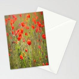 Poppy Peacefulness Stationery Cards
