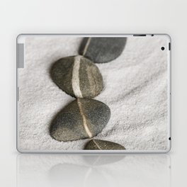 zen pebble line Laptop & iPad Skin