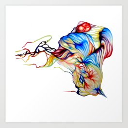Melting Art Print