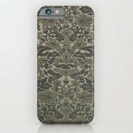 Grey Acorn iPhone Case