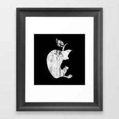 the Apple Framed Art Print