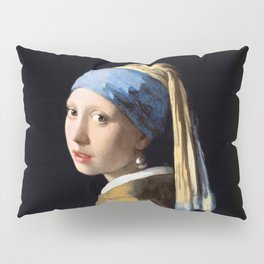 Girl with a Pearl Earring - Jonah Vermeer Pillow Sham