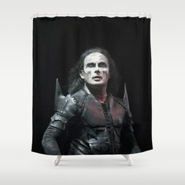 Cradle of Filth #OnStagePortrait Shower Curtain