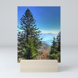Blue Ridge Mountains North Carolina Mini Art Print