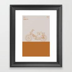 Macchina No.01 Framed Art Print