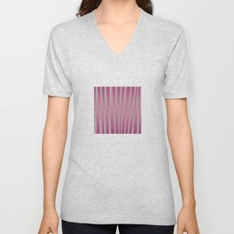 Poppies and lines Unisex V-Neck