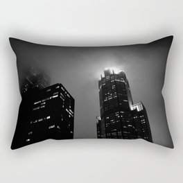 The Torch of Chicago Rectangular Pillow