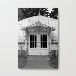 San Francisco Greenhouse Metal Print