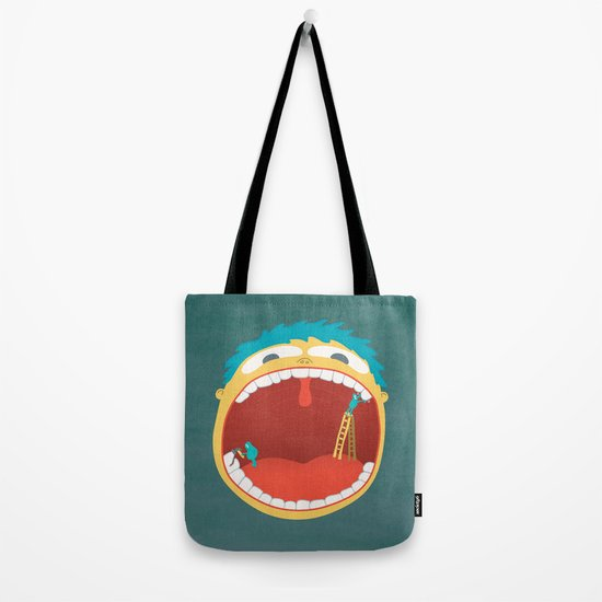 Oh, They're Teeth People! Tote Bag