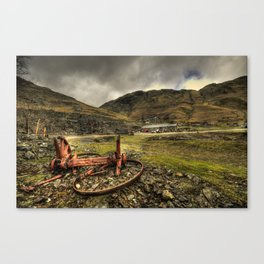 Industrial Remains  Canvas Print