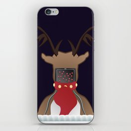 Christmas Card - I Can't Find Britain! iPhone Skin