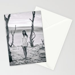 B&W Models Series Stationery Cards