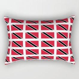 flag of trinidad and Tobago -Trinidad,Tobago,Trinidadian,Tobagonian,Trini,Chaguanas. Rectangular Pillow
