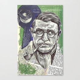 Sartre  - Nothingness Canvas Print