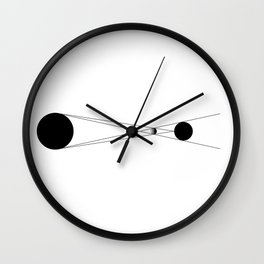 Icon of Eclipse Wall Clock