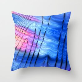 Nip, Tuck and Roll Throw Pillow