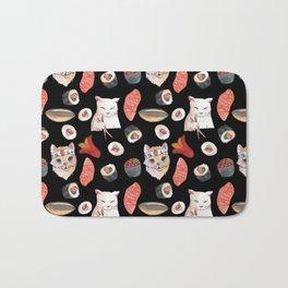 sushi cats Bath Mat