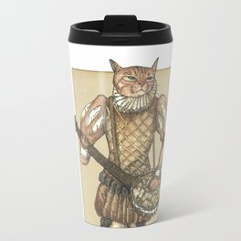 Banjo Cat Travel Mug
