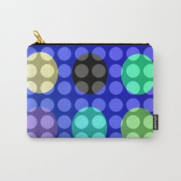 Dots on Elipses Carry-All Pouch