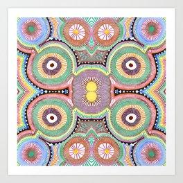 Primary Hypnosis Art Print