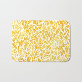 Dandelion Yellow Bath Mat