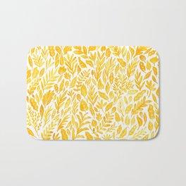 Dandelion Yellow Bath Mat