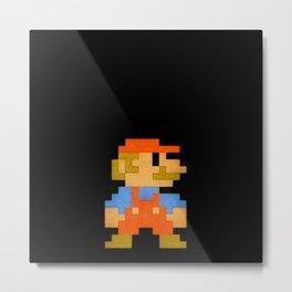 NES Mario REDUX Metal Print