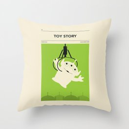 """""""TOY STORY"""" by Jazzberry Blue Throw Pillow"""